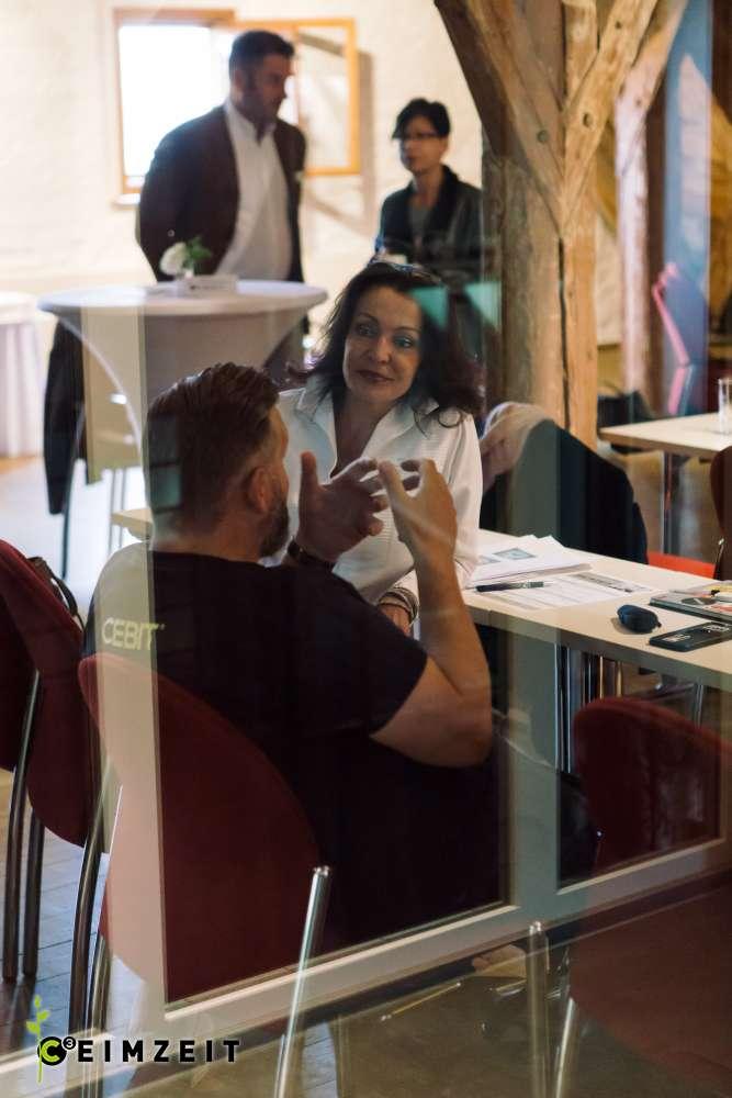 Eventreihe Ceimzeit, Austausch und Vernetzung der Teilnehmer