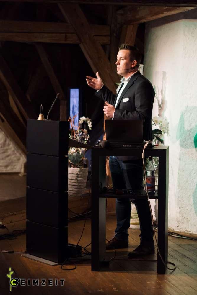 Eventreihe Ceimzeit, Vortrag Steve Rettcke