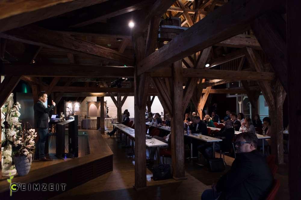 Eventreihe Ceimzeit, Vorträge im Wasserschloss Klaffenbach