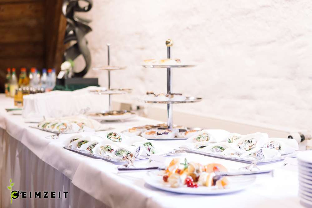 Catering Fingerfood, Ceimzeit