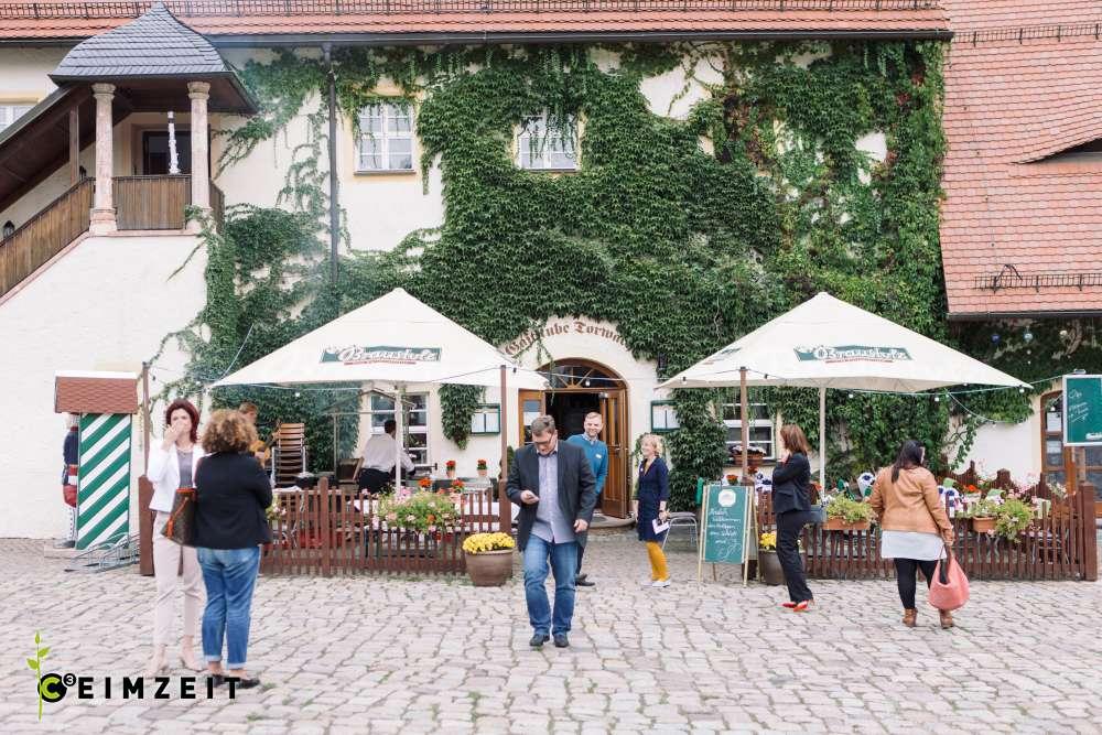 Eindrücke eines Events im Wasserschloss Klaffenbach, Ceimzeit