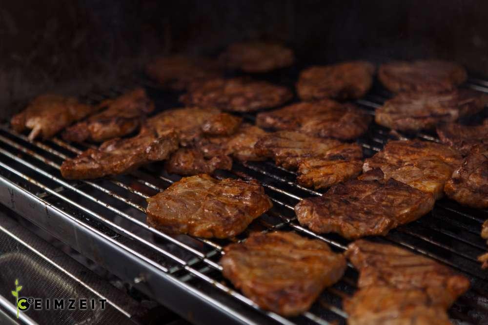Catering BBQ, Ceimzeit