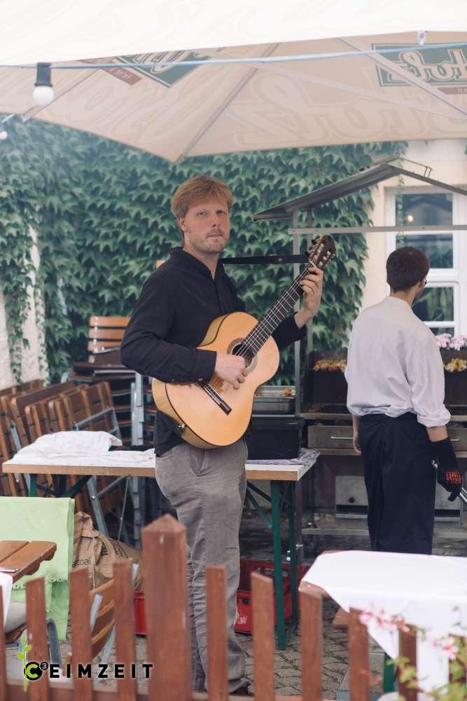 Musik bei einem Event im Wasserschloss Klaffenbach