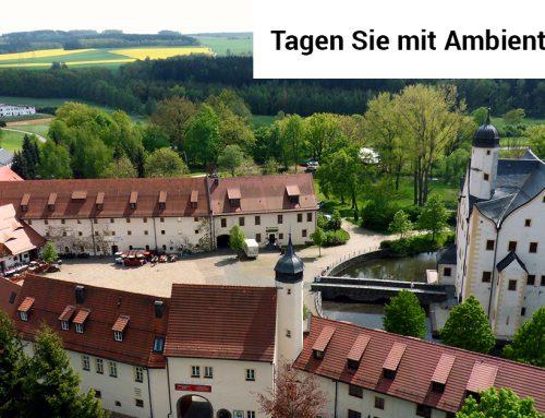 Für Veranstaltungen mit Ambiente: Das Wasserschloss Klaffenbach bei Chemnitz