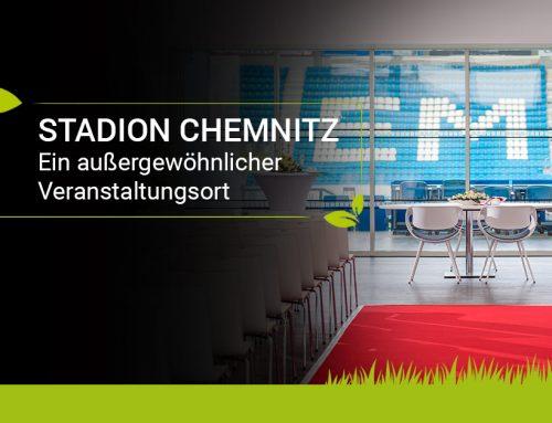 Das Stadion in Chemnitz: Hier kriegt Ihr Event den Kick