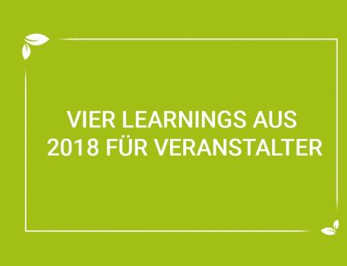 #wirsindmehr: 4 Learnings als Veranstalter aus dem Jahr 2018