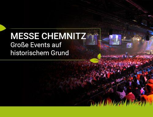 Halle für alle: Die erstaunliche Wandelbarkeit der Messe Chemnitz