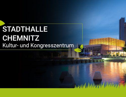 Stadthalle Chemnitz: Verwandlungskünstler mitten in der City