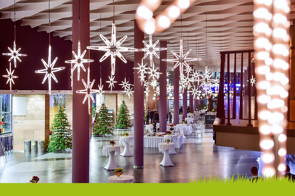Stadthalle_Chemnitz_Foyer Weihnachten - Ceimzeit