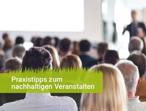 2×4 Praxistipps für nachhaltiges Eventmanagement