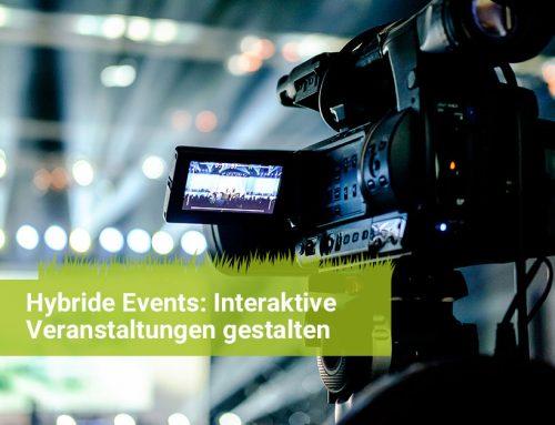 Hybride Events: Interaktive Veranstaltungen durchführen und gestalten