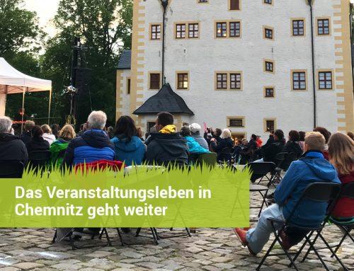Hygienekonzepte für Veranstaltungen: Das Veranstaltungsleben in Chemnitz geht weiter.