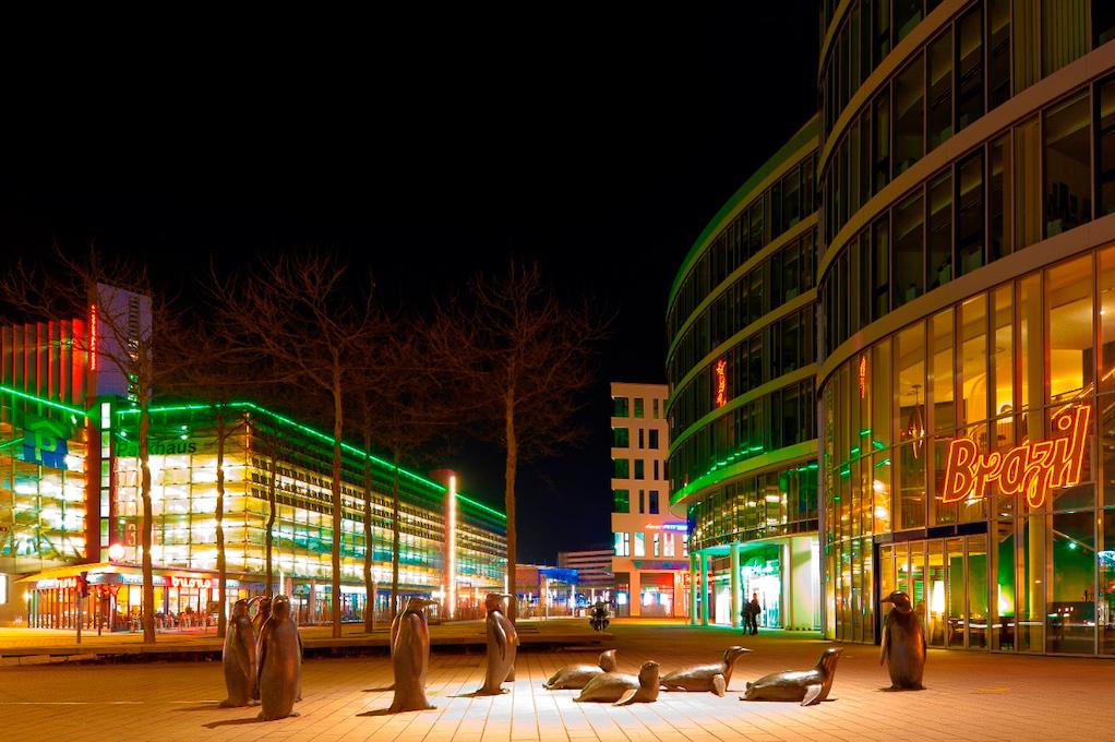 Pinguine in der Chemnitzer Innenstadt (c) Ulf-Dahl